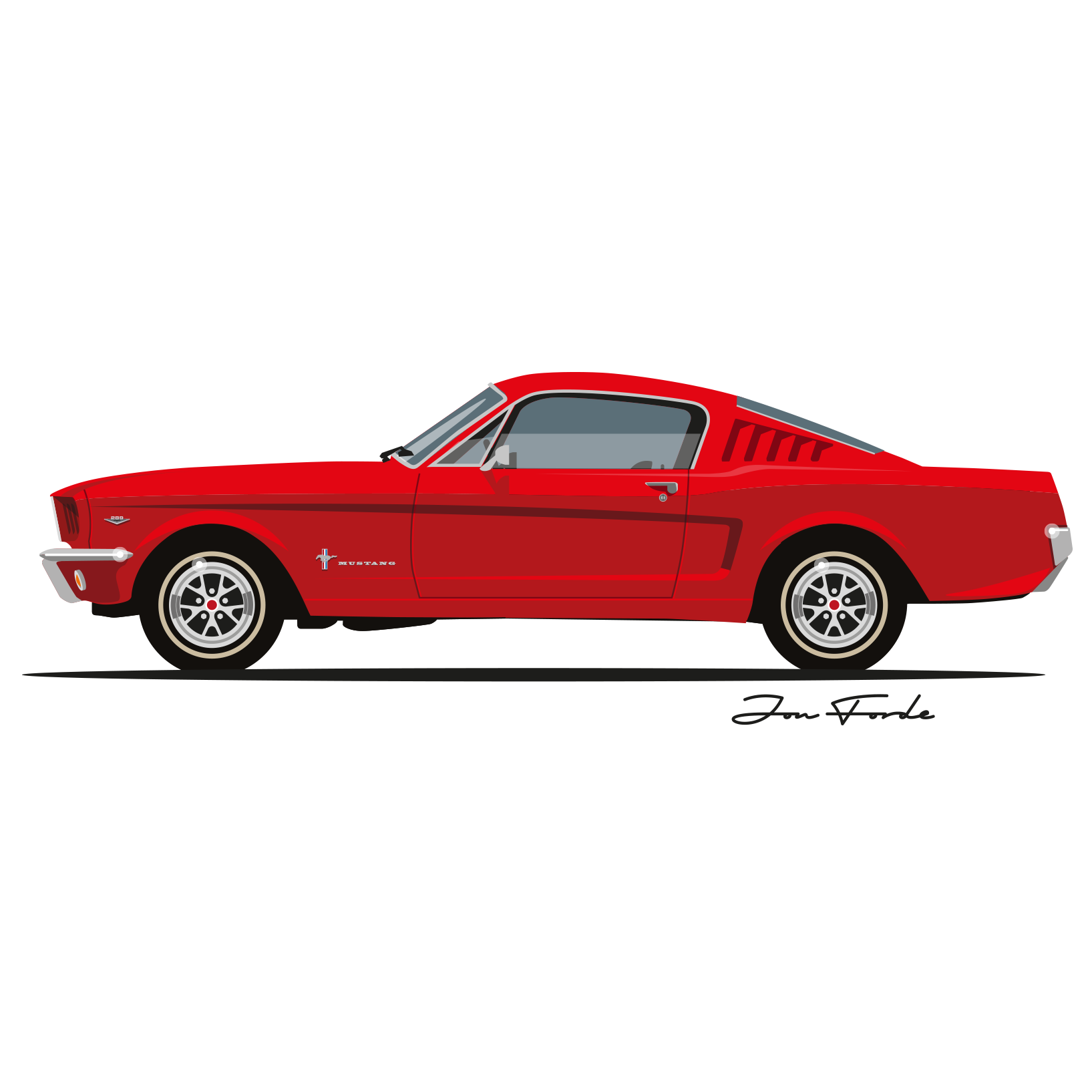 65 Ford Mustang Gt Fastback Jon Forde Automotive